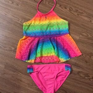 2 piece bathing suit size 10-12